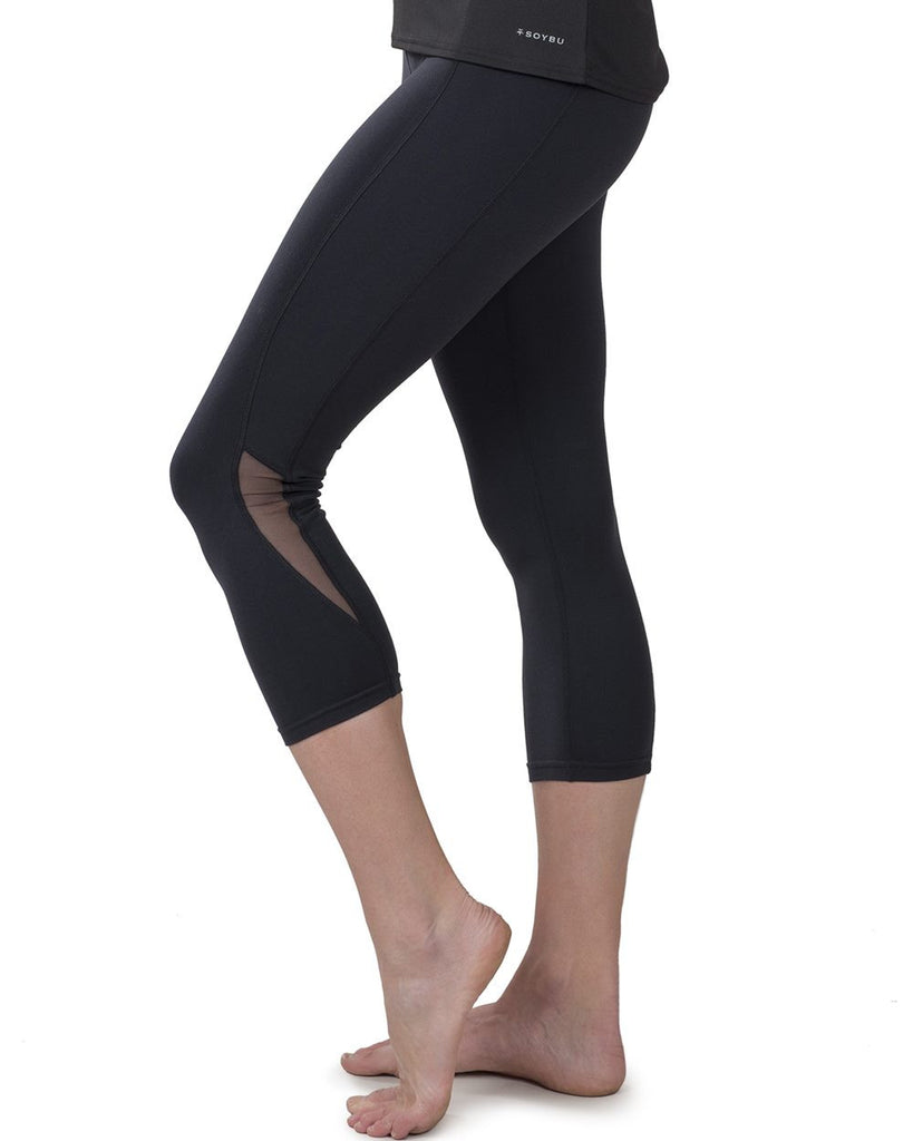 Womens Killer Caboose High Rise Compression Capris by Pronounce Activewear, Soybu - Pronounce Activewear