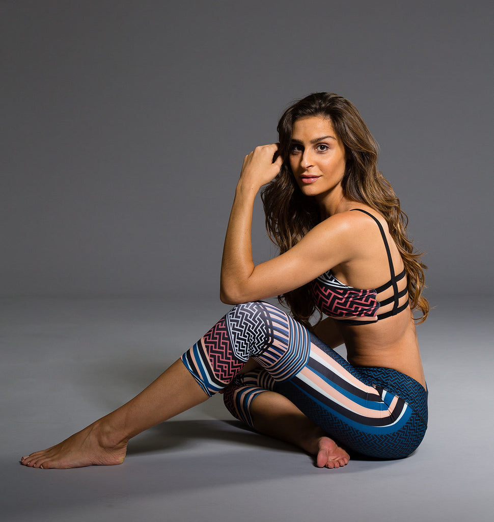 Graphic Capri - Empire by Onzie, Onzie - Pronounce Activewear