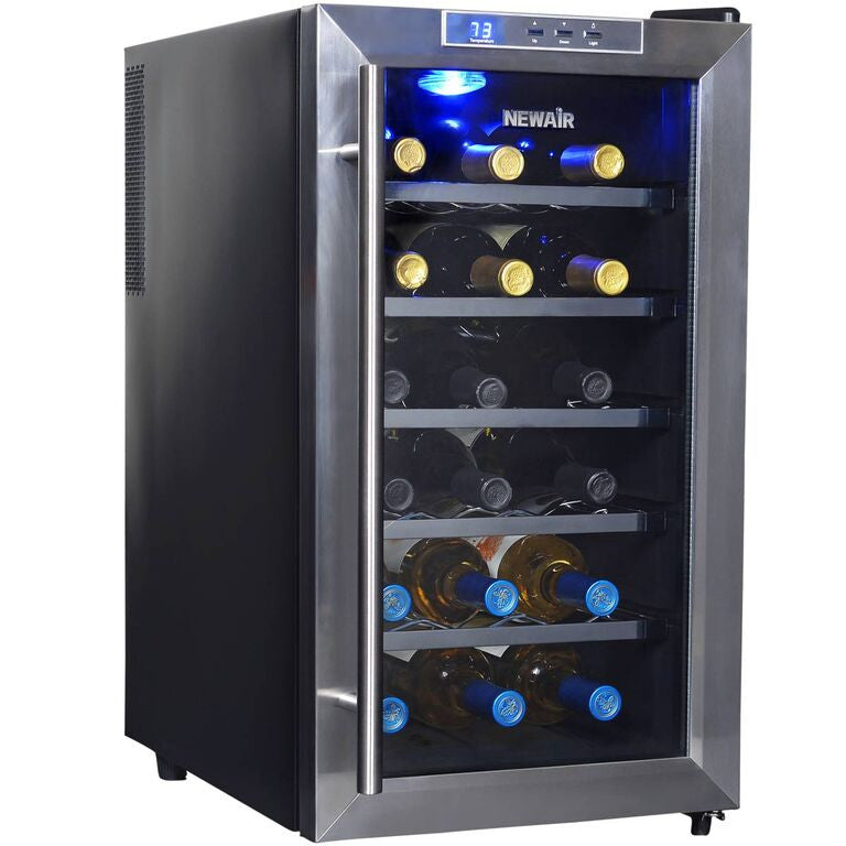 Image result for NewAir 18 Bottle Thermoelectric Wine Cooler