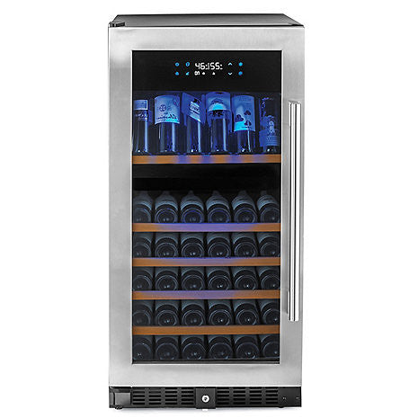 Dual Zone Wine Cellar  sc 1 st  Buy Wine Coolers & Nu0027FINITY PRO HDX 94 Dual Zone Wine Cellar Left Hinge (Stainless ...