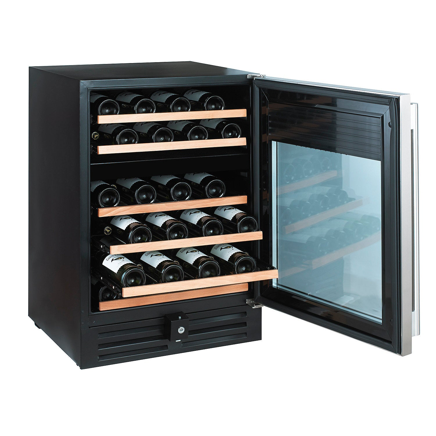 ... Nu0027FINITY PRO HDX 46 Dual Zone Wine Cellar (Stainless Steel Door) ...  sc 1 st  Buy Wine Coolers & Nu0027FINITY PRO HDX 46 Dual Zone Wine Cellar (Stainless Steel Door ...