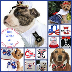 Patriotic Themed Accessories and Pet Wear