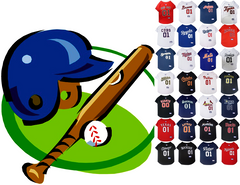 MLB Pet Jerseys & Tees