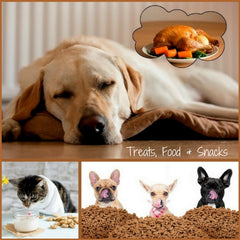 Pet Treats, Food  & Snacks