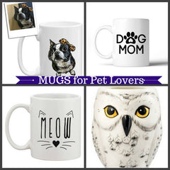 Mugs for Dog & Cat Lovers