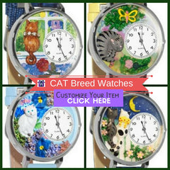 Whimsical Watches Cat Themed gifts for petlovers