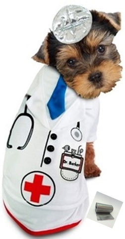 Doctor Barker Pet Costume