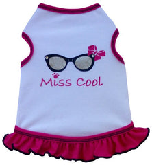 Miss COOL Tank Dress in color Pink for dogs