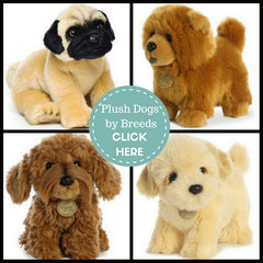 Stuffed Animals for Pet Lovers of Dogs and Puppies of all Breeds