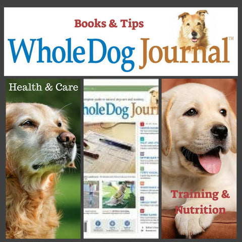 Whole Dog Journal Books and eBooks for Healthy Dogs and Pet Owners