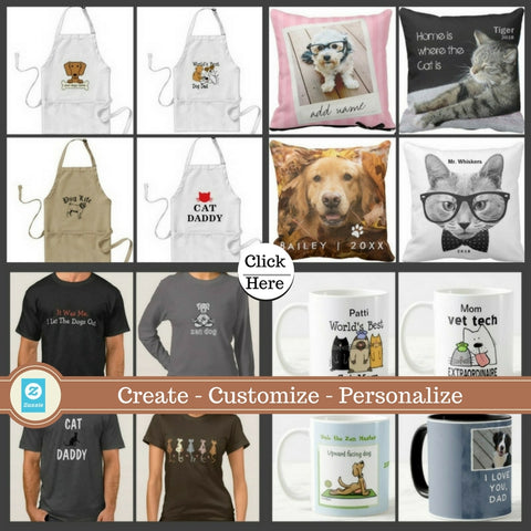 Pet lovers Gifts You Can Create Customize and Personalize Hoodies tees Pillows Mugs and more on Zazzle