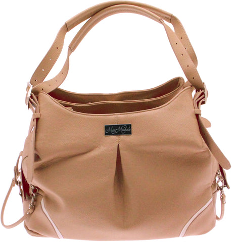 Mocha Pebble Mia Michele Carry Bag