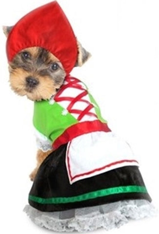 Oktoberfest Bavarian Alpine Girl -  Dog Costume - Daisey's Doggie Chic