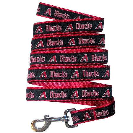 Arizona DIAMONDBACKS   MLB Nylon Leash - Daisey's Doggie Chic