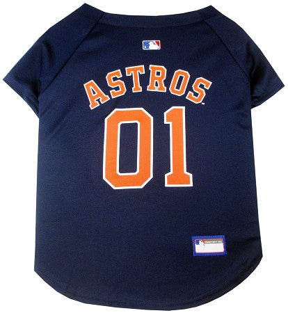 Houston ASTROS   MLB Jersey - Daisey's Doggie Chic