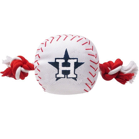Houston ASTROS  MLB Baseball Tug'n Chew Toy - Daisey's Doggie Chic