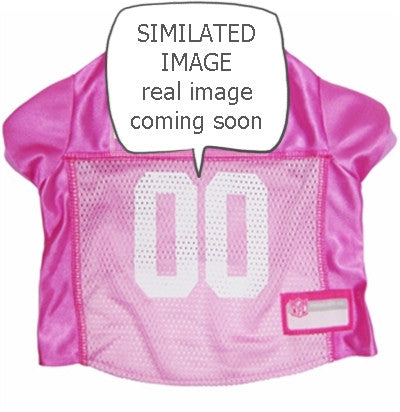 Buffalo BILLS NFL dog Jersey in color Pink - Daisey's Doggie Chic - 1