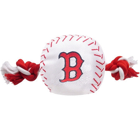 BOSTON RED SOX  MLB Baseball Tug'n Chew Toy - Daisey's Doggie Chic - 1