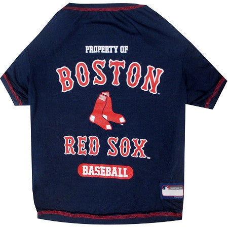 BOSTON RED SOX  MLB Tee Shirt - Daisey's Doggie Chic