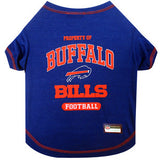 Buffalo BILLS NFL dog T-Shirt in color Blue - Daisey's Doggie Chic