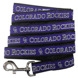 Colorado ROCKIES   MLB Nylon Leash - Daisey's Doggie Chic