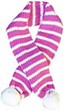 Candy Cane Striped Knit Scarf for Dogs Available in 4 Colors - Daisey's Doggie Chic - 7
