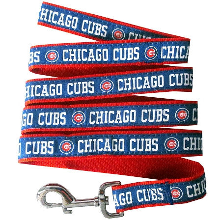 Chicago CUBS MLB Nylon Leash - Daisey's Doggie Chic - 1