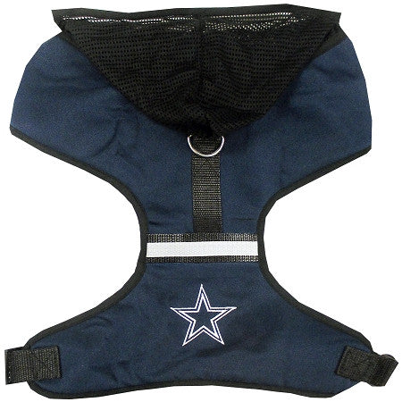 Dallas COWBOYS  NFL dog Hoodie Harness in Color Navy - Daisey's Doggie Chic - 1