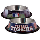 Detroit TIGERS  MLB 32 oz. Water Bowl - Daisey's Doggie Chic