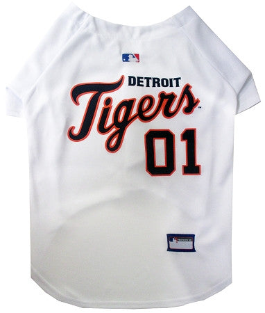 Detroit TIGERS MLB Jersey - Daisey's Doggie Chic - 1