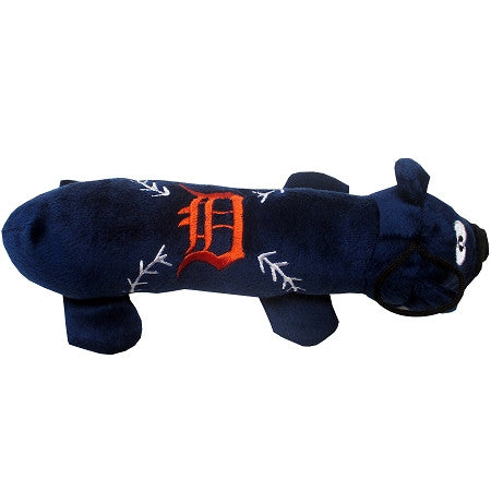 Detroit TIGERS  MLB Plush Tube Squeaker Toy - Daisey's Doggie Chic
