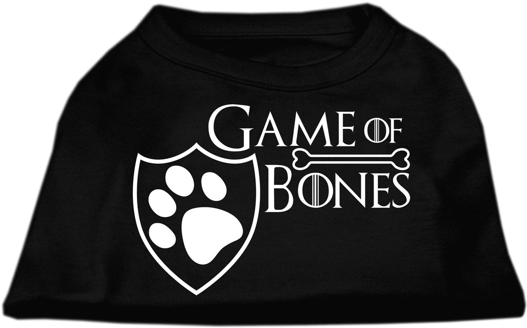 Game of Bones Logo Tee Shirt in 14 Color Choices - Daisey's Doggie Chic