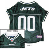 New York JETS  NFL dog Jersey in color Green - Daisey's Doggie Chic - 1