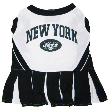 New York JETS  NFL dog Cheerleader Dress - Daisey's Doggie Chic