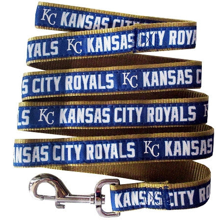 KC ROYALS  MLB Nylon Leash - Daisey's Doggie Chic