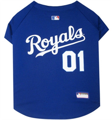 KC ROYALS MLB Jersey - Daisey's Doggie Chic