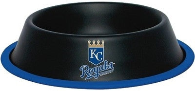 KC ROYALS MLB 32 oz. Water Bowl - Daisey's Doggie Chic