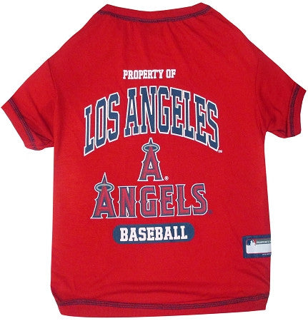 Los Angeles ANGELS  MLB Tee Shirt - Daisey's Doggie Chic - 1