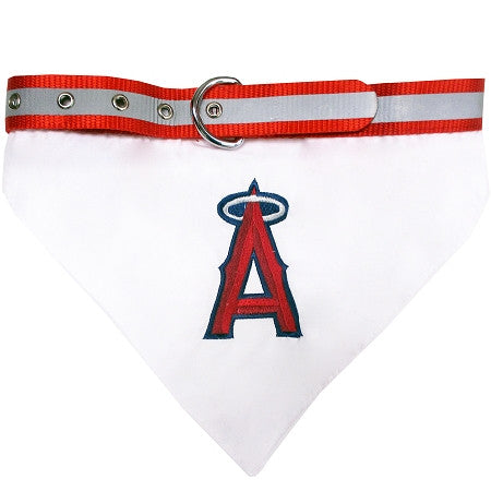 Los Angeles ANGELS  MLB Bandana Collar - Daisey's Doggie Chic