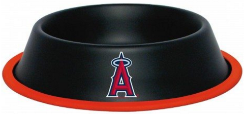 Los Angeles ANGELS  MLB 32 oz. Water Bowl - Daisey's Doggie Chic