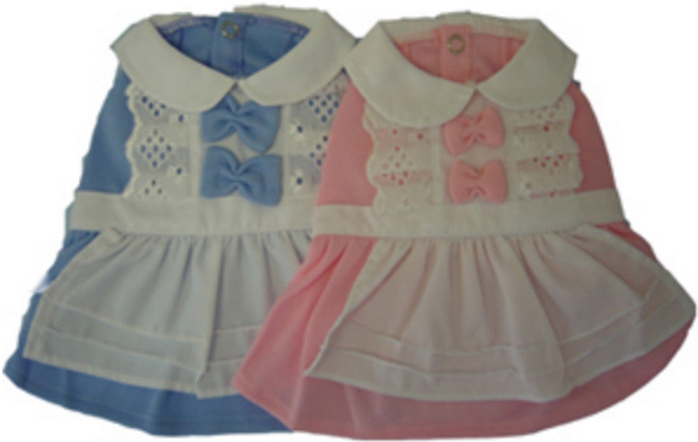 Alice in Wonderland Costume Dress in  Choice of  Blue Alice or Pink Maid - Daisey's Doggie Chic