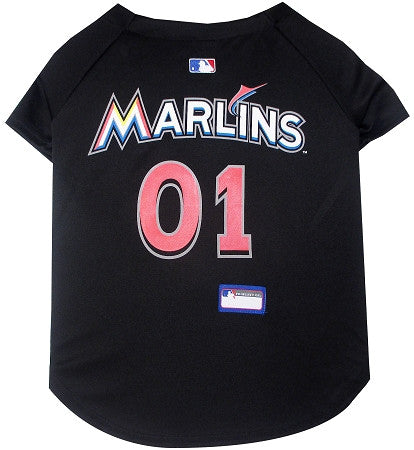 Miami MARLINS  MLB Jersey - Daisey's Doggie Chic - 1