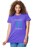 Chihuahua Pet Themed Crewneck T-Shirt - My My My Chihuahua logo  - Adult (Unisex) Sizes S,M,L,XL,2XL in 19 colors - Daisey's Doggie Chic