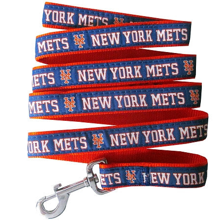 New York METS   MLB Nylon Leash - Daisey's Doggie Chic - 1