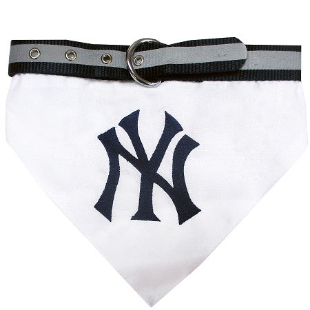 New York YANKEES  MLB Bandana Collar - Daisey's Doggie Chic - 1