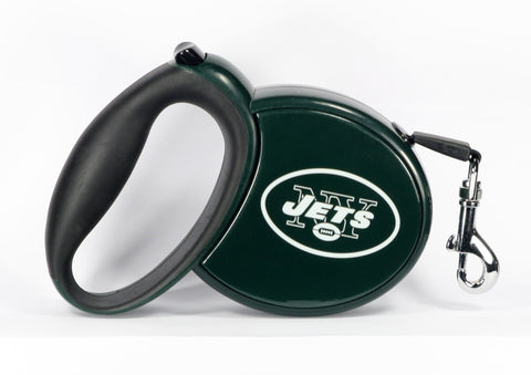 Jets NFL Retractable Leash - Daisey's Doggie Chic