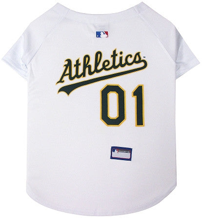 Oakland A's Athletics  MLB Jersey - Daisey's Doggie Chic