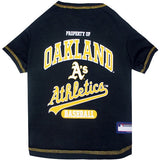 Oakland A's Athletics  MLB Tee Shirt - Daisey's Doggie Chic - 1