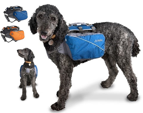 Trekker RF Dog Pack BackPack Harness Vest in 2 colors - Daisey's Doggie Chic
