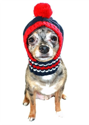 NE PATRIOTS NFL Official Licensed Ski Hat for Dogs in color Navy Red -  Daisey s 929479649